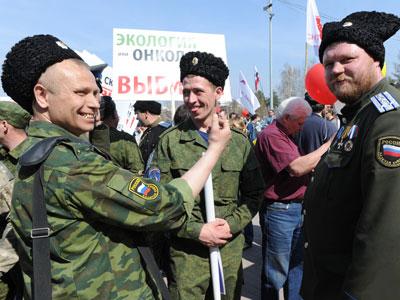 В ХМАО казакам разрешат бить людей - официально и за деньги